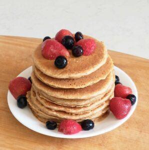 Healthy Flaxseed Pancakes