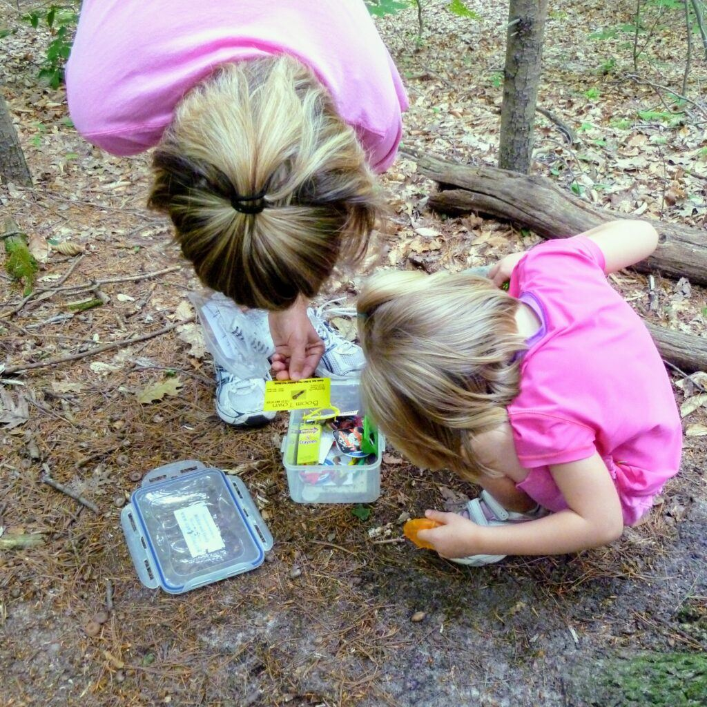 16 Hiking And Camping Games And Activities For Kids - Geocaching or Letterboxing