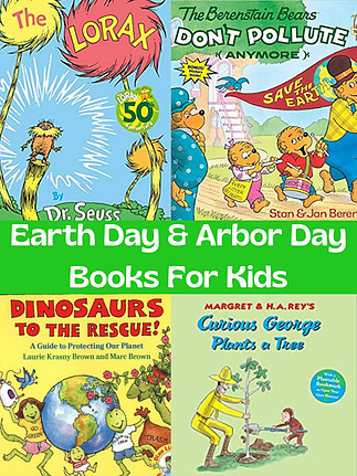 Earth Day & Arbor Day Books For Kids