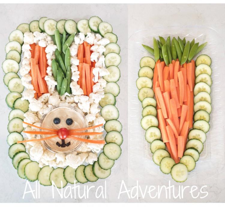 Easter Bunny Veggie Tray
