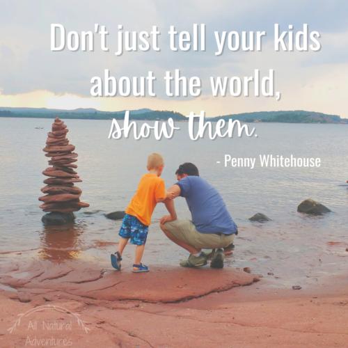 Children's Nature Quotes to Inspire Adventure