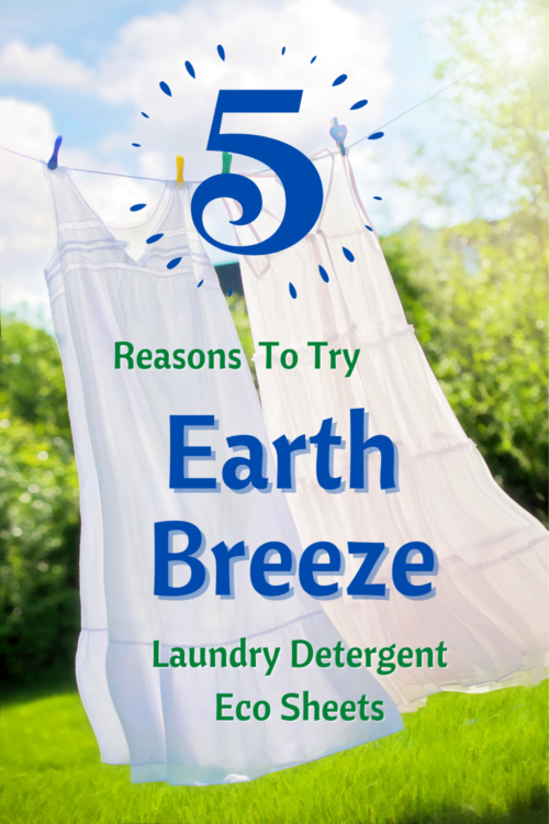 5 Reasons To Try Earth Breeze Laundry Detergent Eco Sheets - Earth Breeze Review