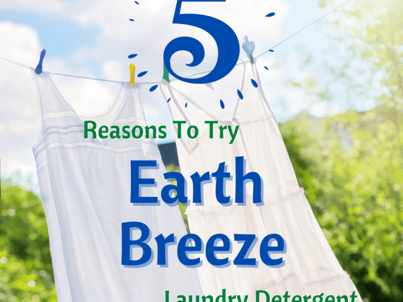 5 Reasons To Try Earth Breeze - Laundry Detergent Eco Sheets Review