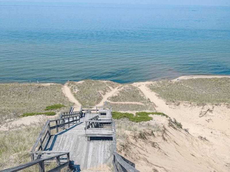 Adventuring At Laketown Beach Along Lake Michigan (Holland, MI(