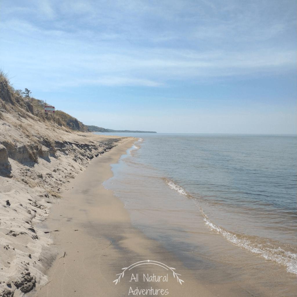Laketown Beach Along Lake Michigan In Holland, MI