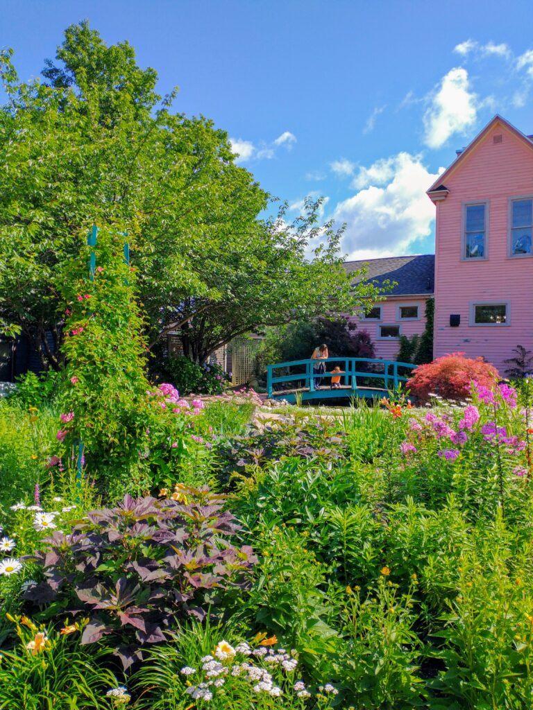 The Beautiful Monet Garden of Muskegon, Michigan