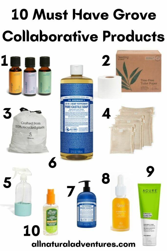 10 Must Have Grove Collaborative Products