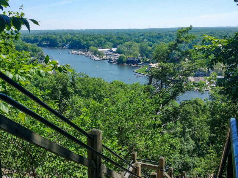 3 Must See Spectacular Hikes In Saugatuck, Michigan - Saugatuck Dunes State Park, Mt. Baldhead & Crow's Nest Trail
